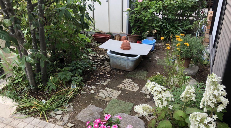 小庭づくり