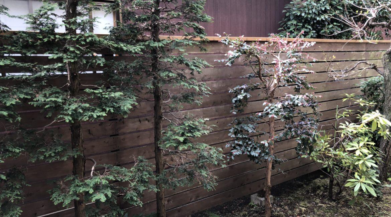 ウッドフェンス・板塀